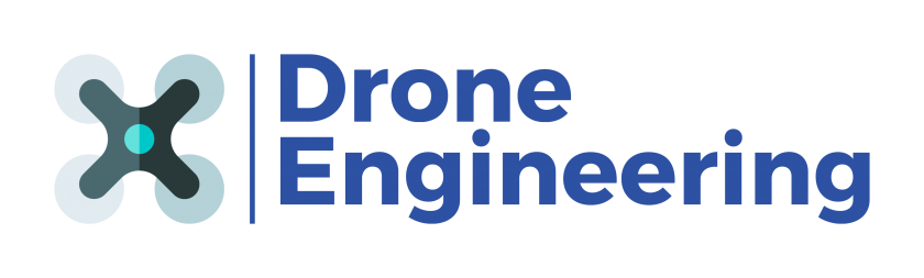 Logo Drone Engineering fond transparent